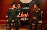 Министр обороны Вьетнама провел двусторонние встречи с лаосским и тайским коллегами
