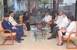 당티응옥팅 (Đặng Thị Ngọc Thịnh ) 국가 부주석 쿠바 공식 방문