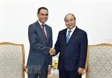 응웬쑤언푹 총리 Zamruni Khalid 말레이시아 대사 접견