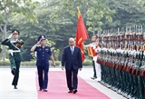 Thủ tướng Nguyễn Xuân Phúc làm việc với Bộ Tư lệnh Cảnh sát biển Việt Nam
