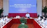Thủ tướng chủ trì phiên họp Tiểu ban Kinh tế - xã hội với các tỉnh thành phố khu vực miền Trung Tây Nguyên