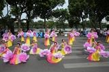 Sôi động hoạt động đi bộ vì hòa bình và lễ hội đường phố Hà Nội