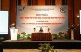 Hà Nội - Thành phố vì hòa bình 20 năm hội nhập và phát triển