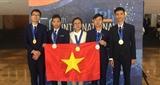Việt Nam giành 3 Huy chương Vàng tại Olympic Vật lí quốc tế 2019
