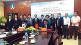 베트남 홍강 삼각주의 쌀 가치사슬 개혁 사업 체결식