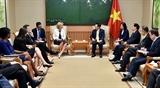 Активизируется сотрудничество между г. Ханоем и французским регионом Иль-де-Франс