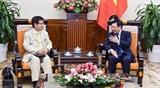 Япония желает укреплять сотрудничество с Вьетнамом