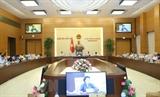 국회 상임위원회 35차 회의  남딘(Nam Định) 시 2개의 동 설립허가