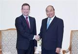 Премьер-министр Вьетнама Нгуен Суан Фук принял послов Франции и Германии