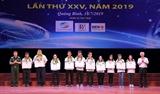 Lễ tổng kết và trao giải Hội thi Tin học trẻ toàn quốc lần thứ XXV năm 2019