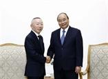 Премьер-министр Вьетнама принял Председателя японской корпорации Fast Retailing