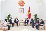 Премьер-министр Вьетнама Нгуен Суан Фук принял посла Германии