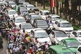 호치민시 도심 진입 차량에 통행료 징수 계획