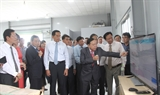 Vận hành nhà máy điện năng lượng mặt trời kết hợp nông nghiệp công nghệ cao tại Vĩnh Long