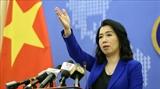 Yêu cầu Trung Quốc chấm dứt các hành vi vi phạm trên vùng biển của Việt Nam