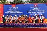 Le Vietnam aide à construire lInstitut économique-financier du Laos