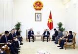 Thủ tướng Nguyễn Xuân Phúc tiếp Cố vấn Đặc biệt Liên minh Nghị sĩ Hữu nghị Nhật – Việt