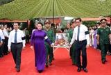 Chủ tịch Quốc hội dự Lễ truy điệu và an táng hài cốt liệt sỹ tại tỉnh Tây Ninh