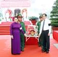 Председатель НCВ приняла участие в церемонии перезахоронения останков павших фронтовиков в Тэйнине
