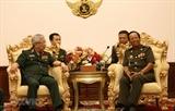 Углубляется сотрудничество в сфере обороны между Вьетнамом и Камбоджей