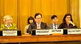 Конференция по разоружению была закрыта в конце срока председательства Вьетнама