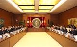 Tăng cường quan hệ hợp tác giữa hai Quốc hội Việt Nam - Lào