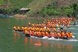 Đặc sắc lễ hội đua thuyền trên sông Chừng
