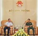 ベトナムとアメリカとの国防関係を強化