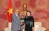Ratifica presidenta del Parlamento de Vietnam solidaridad con Cuba