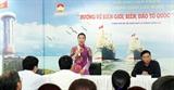 Thành phố Hồ Chí Minh hướng về biên giới biển đảo của Tổ quốc