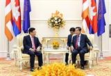 Укрепление хороших отношений между Вьетнамом и Камбоджей