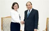 Премьер-министр Вьетнама принял австралийского посла