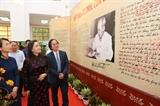 Triển lãm tư liệu 50 năm thực hiện Di chúc Chủ tịch Hồ Chí Minh