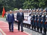 Thủ tướng Chính phủ Nguyễn Xuân Phúc đón hội đàm với Thủ tướng Australia Scott Morrison