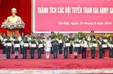 Bộ Quốc phòng tuyên dương các đội tuyển tham gia Hội thao Quân sự quốc tế năm 2019