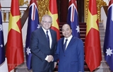 Le PM australien termine sa visite officielle au Vietnam