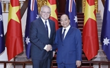 PM Morrisons visit deepens Vietnam-Australia strategic partnership