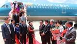 Chủ tịch Quốc hội đến Thái Lan bắt đầu tham dự Đại hội đồng AIPA 40 và thăm chính thức Vương quốc Thái Lan