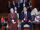 Председатель НС Вьетнама приняла участие в открытии 40-й Генеральной ассамблеи АИПА