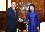 La vice-présidente vietnamienne reçoit une délégation de lagence de presse Prensa Latina