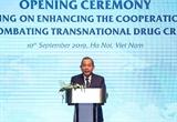 Укрепление международного сотрудничества в борьбе с наркотиками