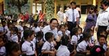 Bộ trưởng Bộ Giáo dục và Đào tạo dự Lễ khai giảng tại rốn lũ Quảng Bình
