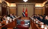 Thành phố Hồ Chí Minh đẩy mạnh hợp tác đầu tư với Cuba