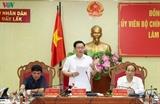Вице-премьер Вьетнама Выонг Динь Хюэ обсудил с руководством провинции Даклак направления её развития