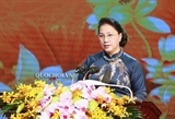 Нгуен Тхи Ким Нган присутствовала на праздновании 130-летия со дня рождения бывшего спикера парламента Буй Банг Доана