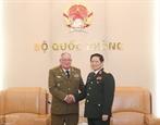 Начальник Генштаба первый замминистра Революционных вооруженных сил Кубы совершил визит во Вьетнам