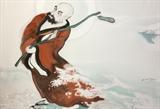 Bước vào cõi Thiền trong tranh Phật giáo