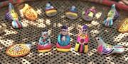 Глиняные игрушки провинции Бакнинь