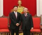 Renforcement des relations avec la Chine
