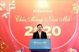 МИД Вьетнама организовал встречу с представителями СМИ страны по случаю нового 2020 года
